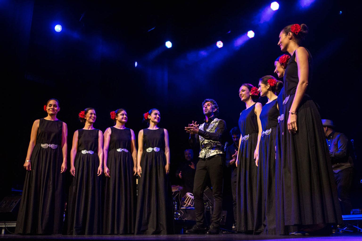 Ciutat Flamenco. Arcángel y Las Nuevas Voces Búlgaras, Sala Barts. Festival Ciutat Flamenco. Barcelona, 17/5/2018. FOTO: MARINA TOMAS ROCH.