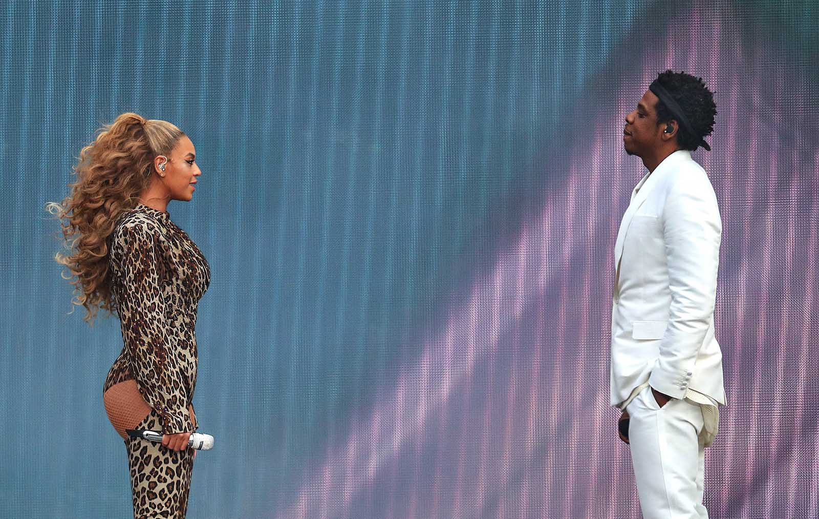 On The Run II Tour - London, UK - Beyoncé, Jay-Z