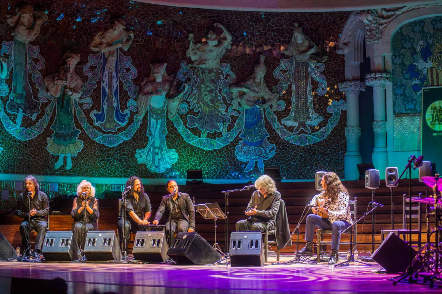 Tomatito - Jose Merce al Palau de la Música Catalana, Festival de Jazz de Barcelona, 16/11/2018. FOTO: MARINA TOMAS ROCH.