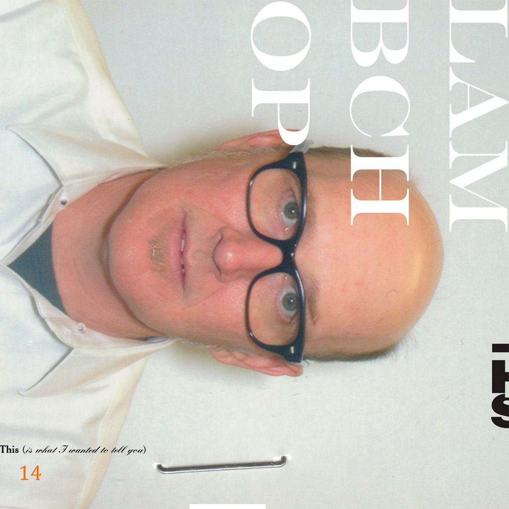 Mejores discos de marzo 2019 -LAMBCHOP - This is what I want to tell tou
