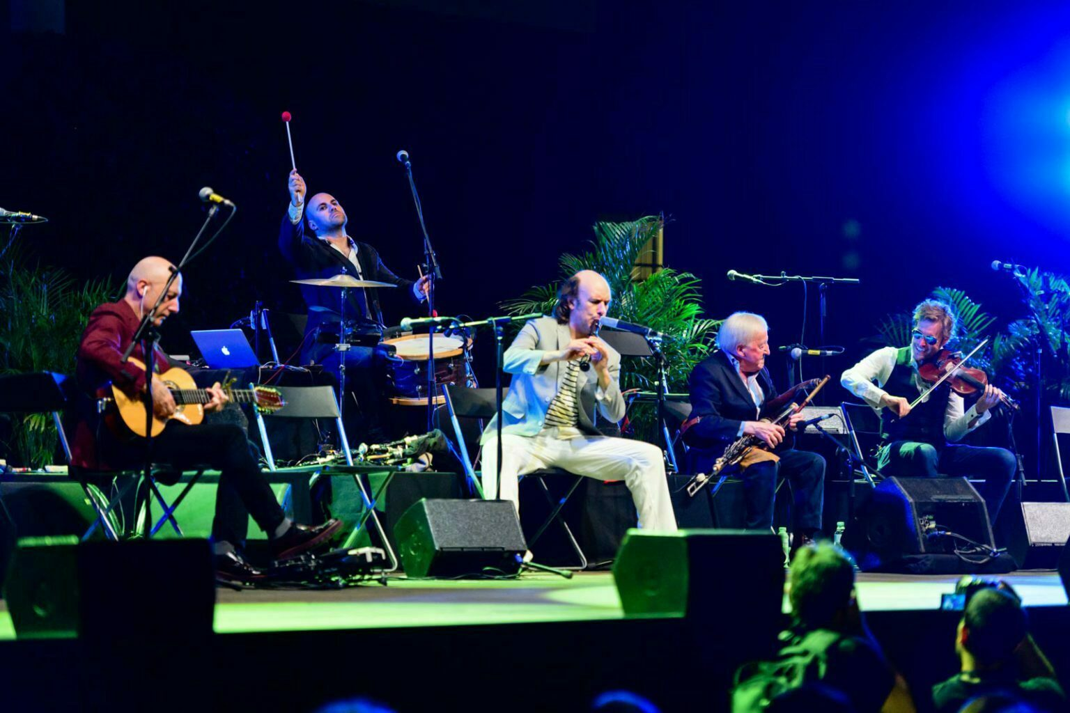 The Chieftains con Carlos Núñez