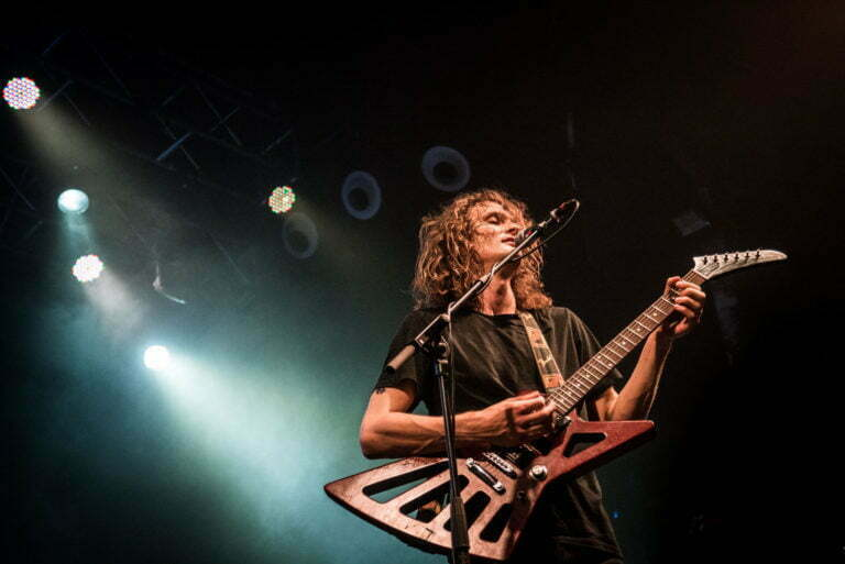 King Gizzard And The Lizard Wizard. Foto © Víctor Parreño
