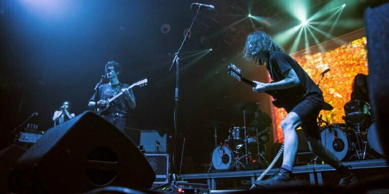 King Gizzard And The Lizard Wizard. Foto © Victor Parreño