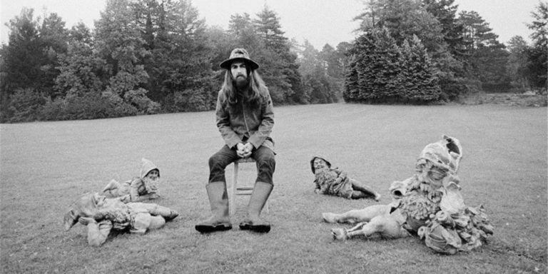 George Harrison - 'All Things Must Pass' © Barry Feinstein