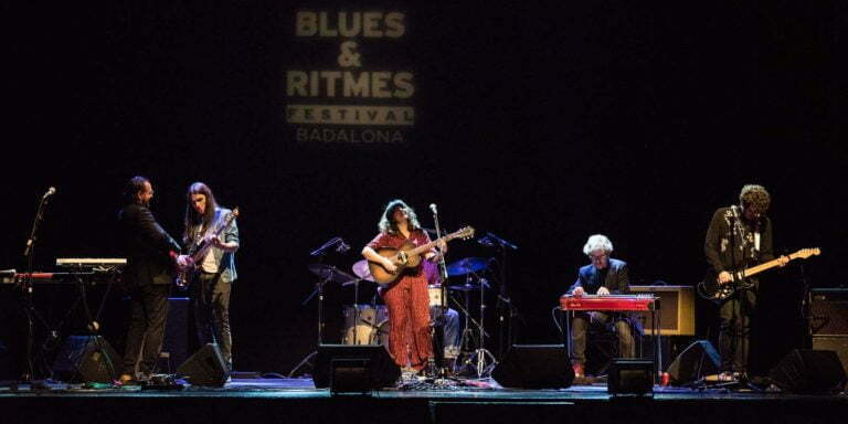 Joana Serrat & The Great Canyoners. © Víctor Parreño
